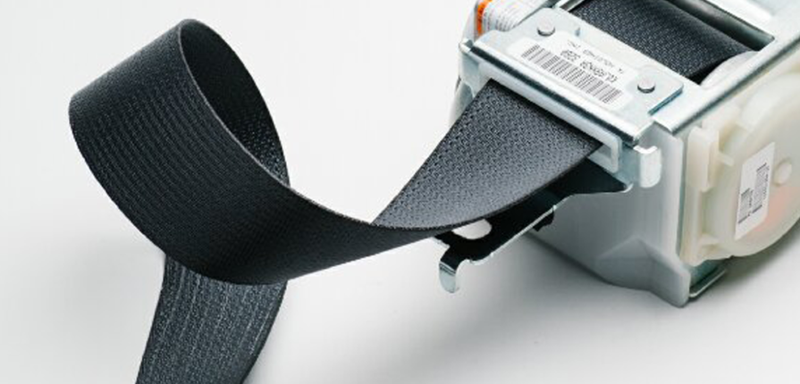 frayed seat belt webbing replacement